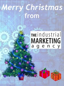 The Industrial Marketing Agency Christmas Card