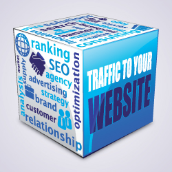 Industrial web traffic and web presence