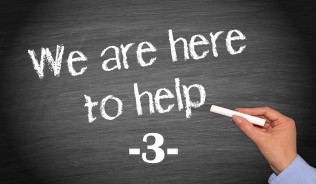 We are here to help - number 3