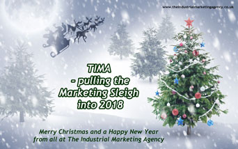 Merry Christmas from The Industrial Marketing Agency 2017