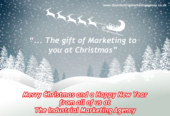 Merry Christmas and a Happy New Year from The Industrial Marketing Agency